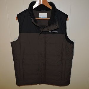 Columbia Full Zip Insulated Synthetic Puffer Vest